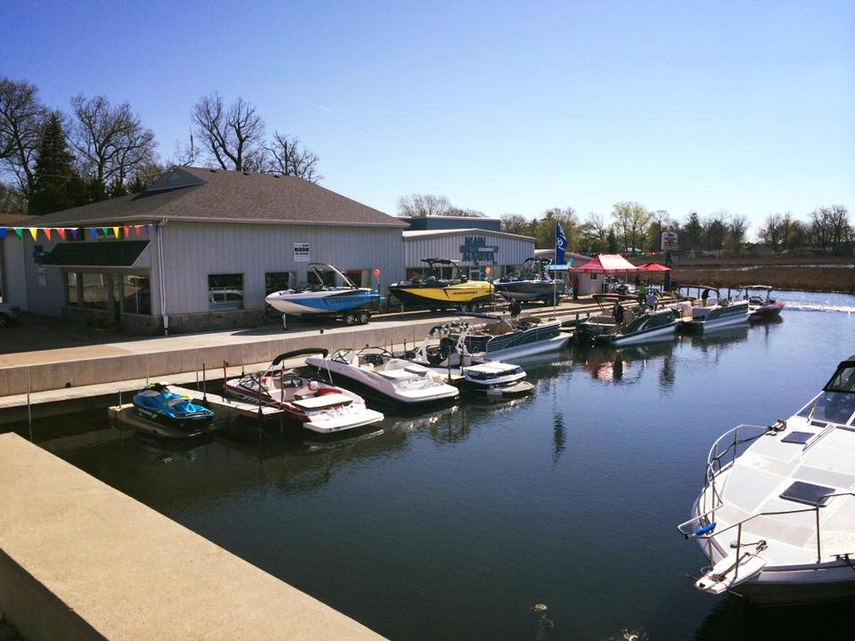 Main Channel Marina exterior from channel