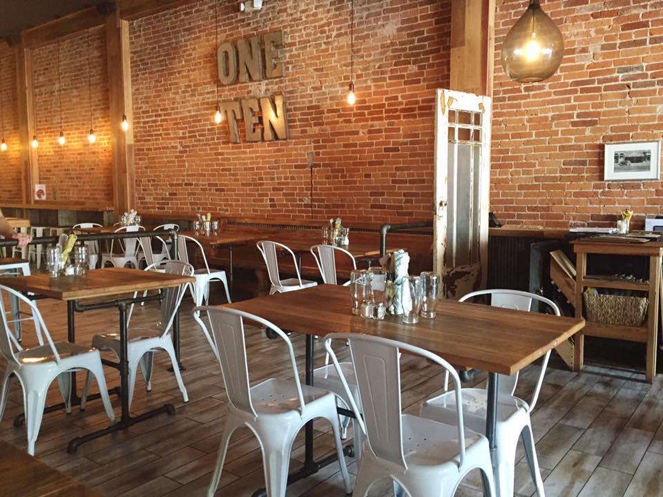 One Ten Craft Meatery interior