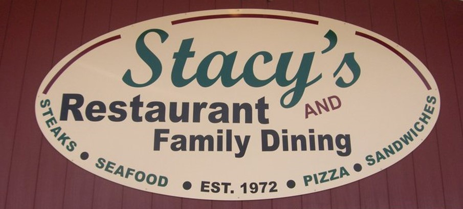 Stacy's building sign