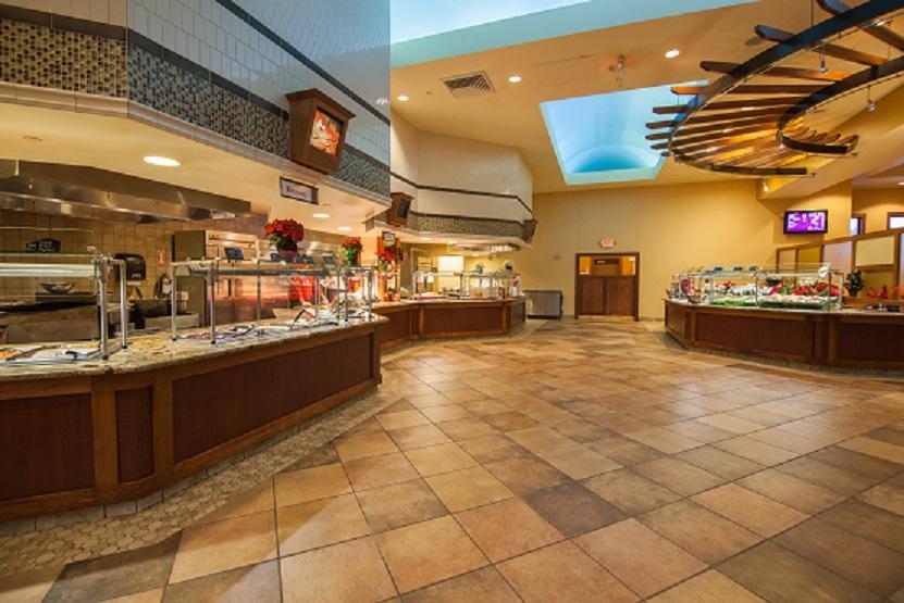 restaurants in three rivers casino