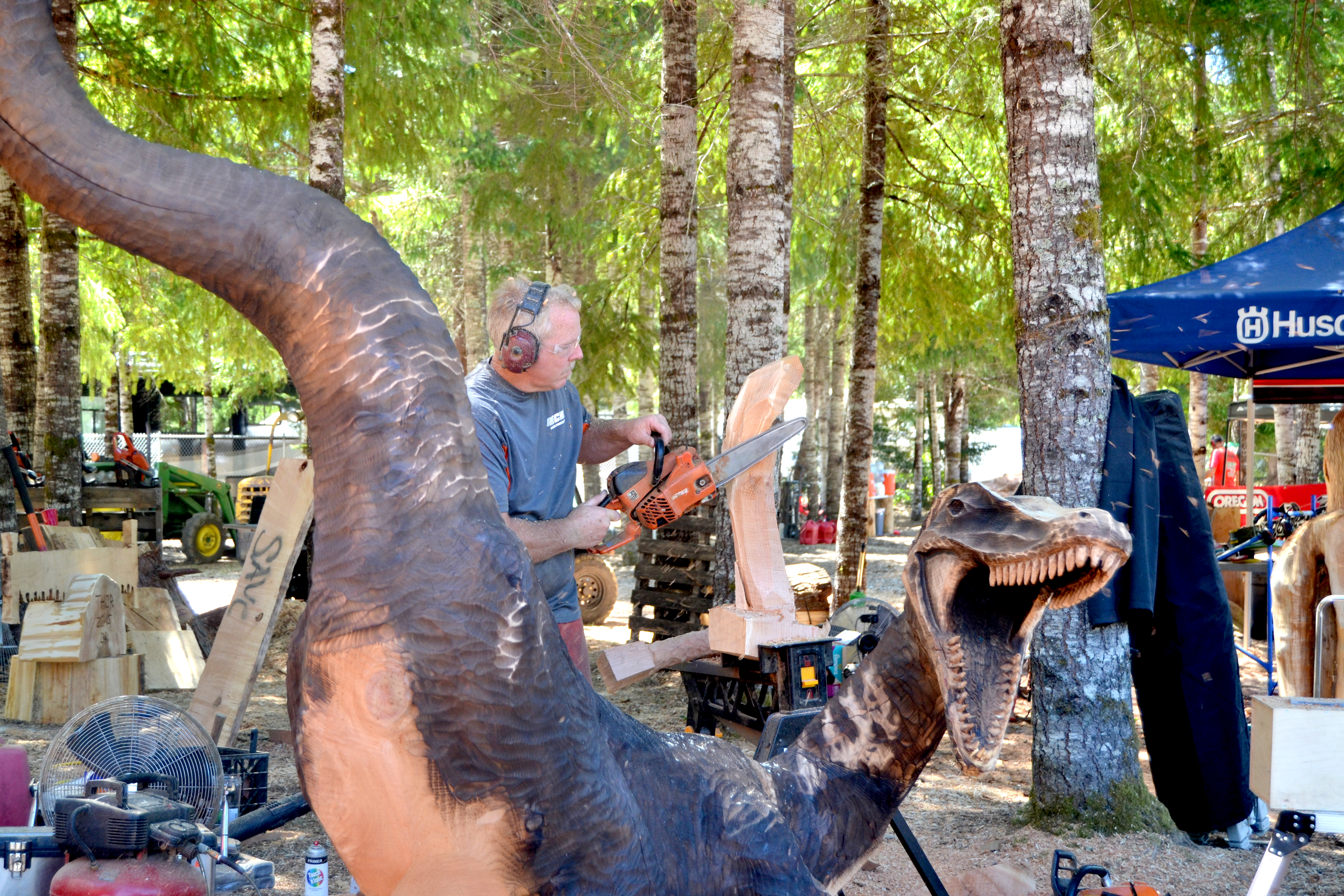 Chainsaw carving bar zeppy