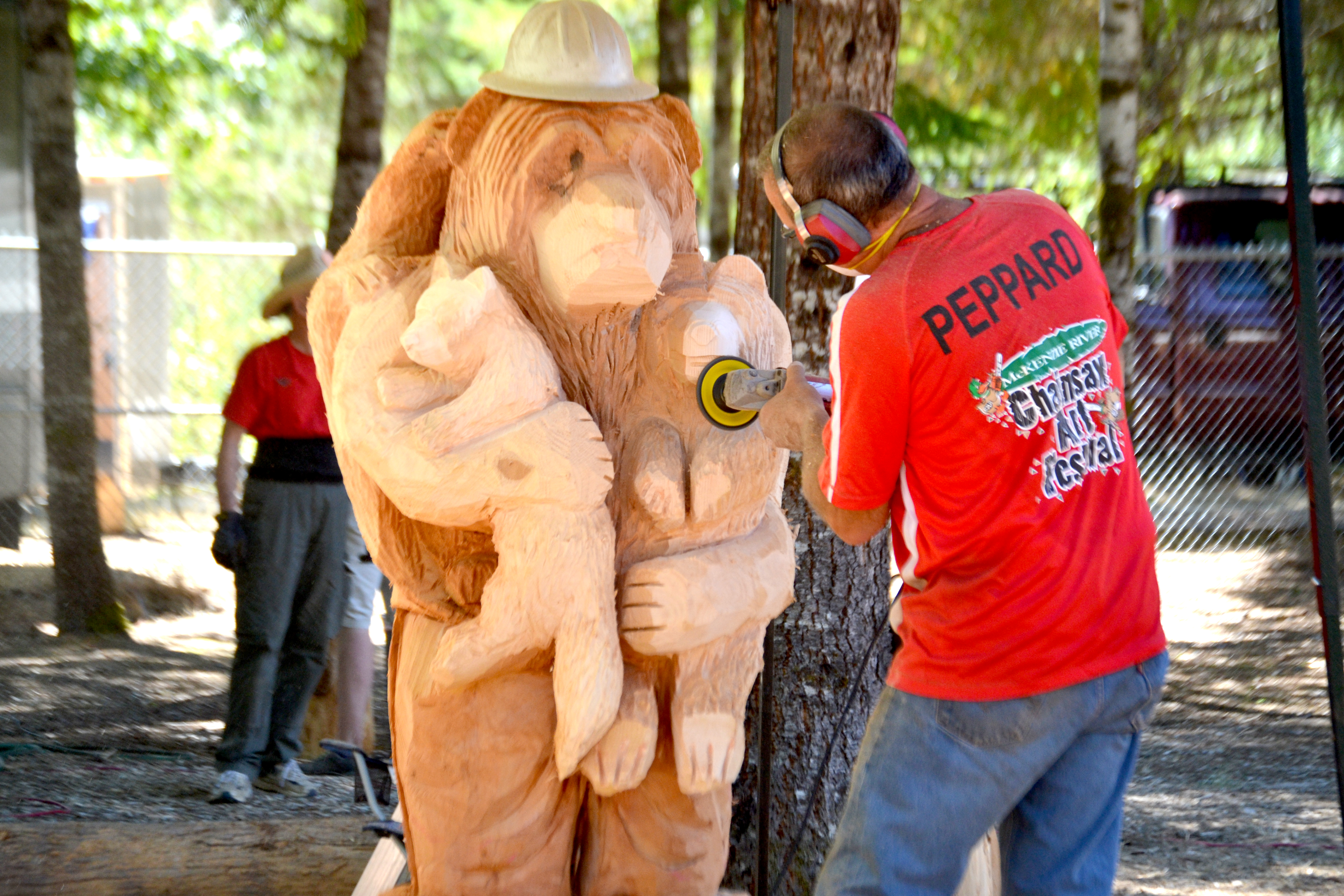 Woodworks chainsaw carving michigan