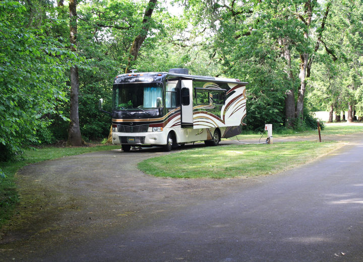 Richardson Park Campground on