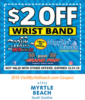 Myrtle Waves Water Park - $2 Off Wrist Band
