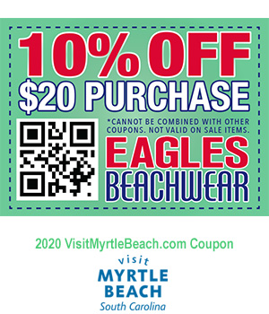 Eagles Beachwear 10 Off A 20 Purchase