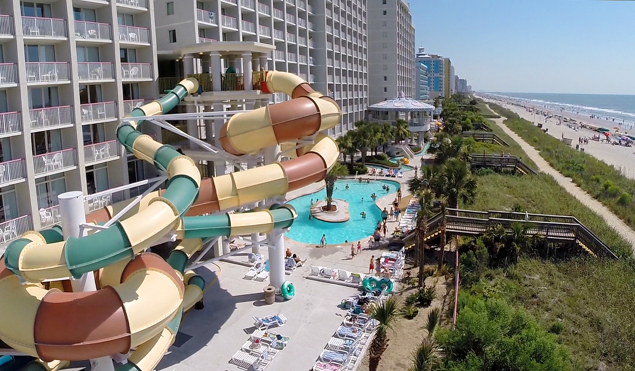 Myrtle Beach Resorts >> Crown Reef Beach Resort And Waterpark