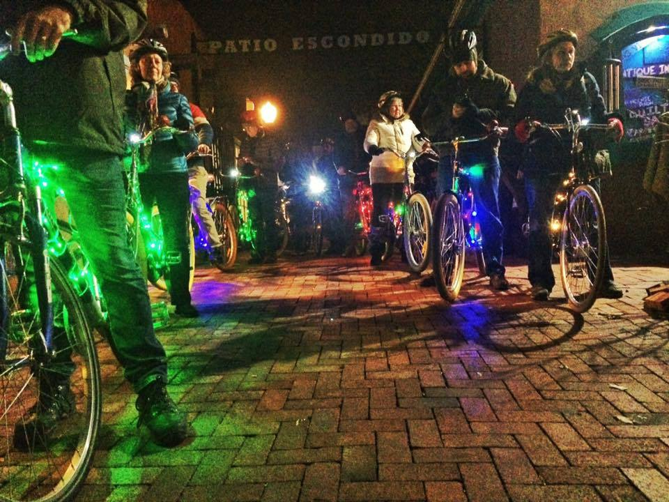 Holiday Lights & Luminaria Bike Tour