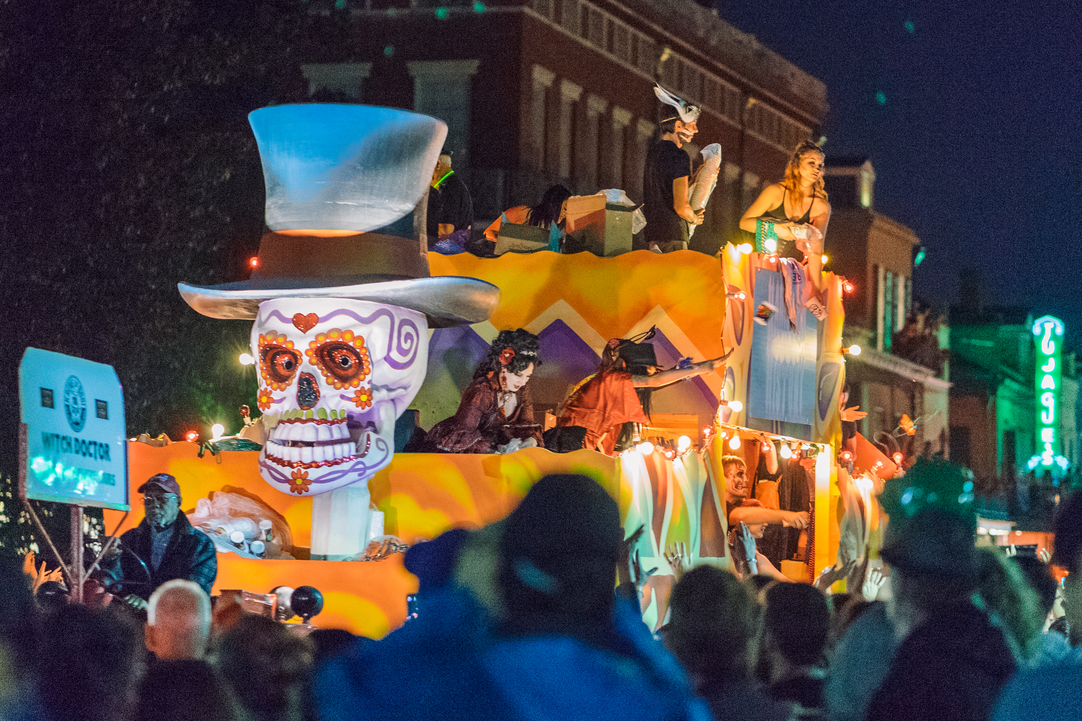 New Orlens Halloween Parade 2020 Krewe of Boo
