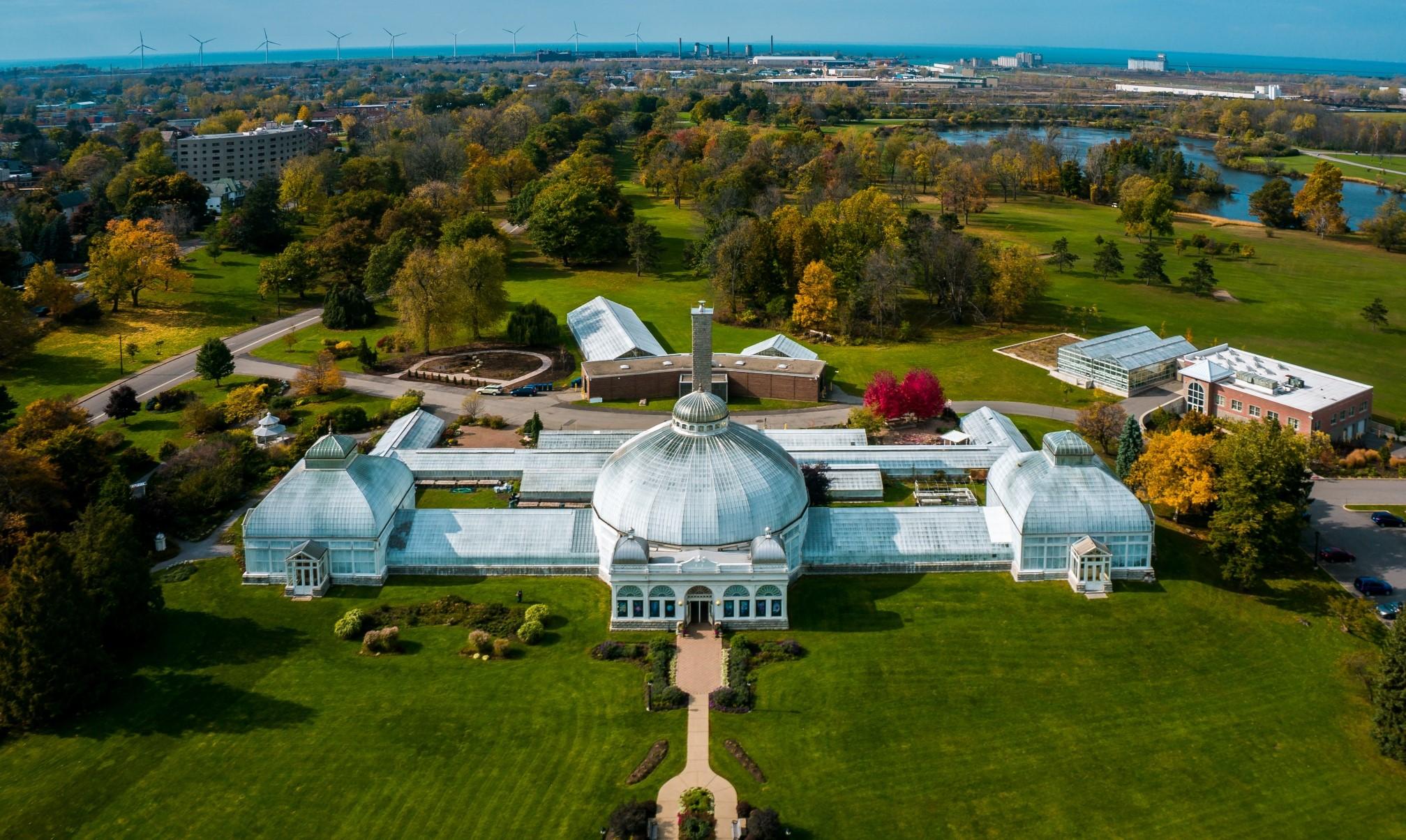 Buffalo And Erie County Botanical Gardens Buffalo Ny 14218