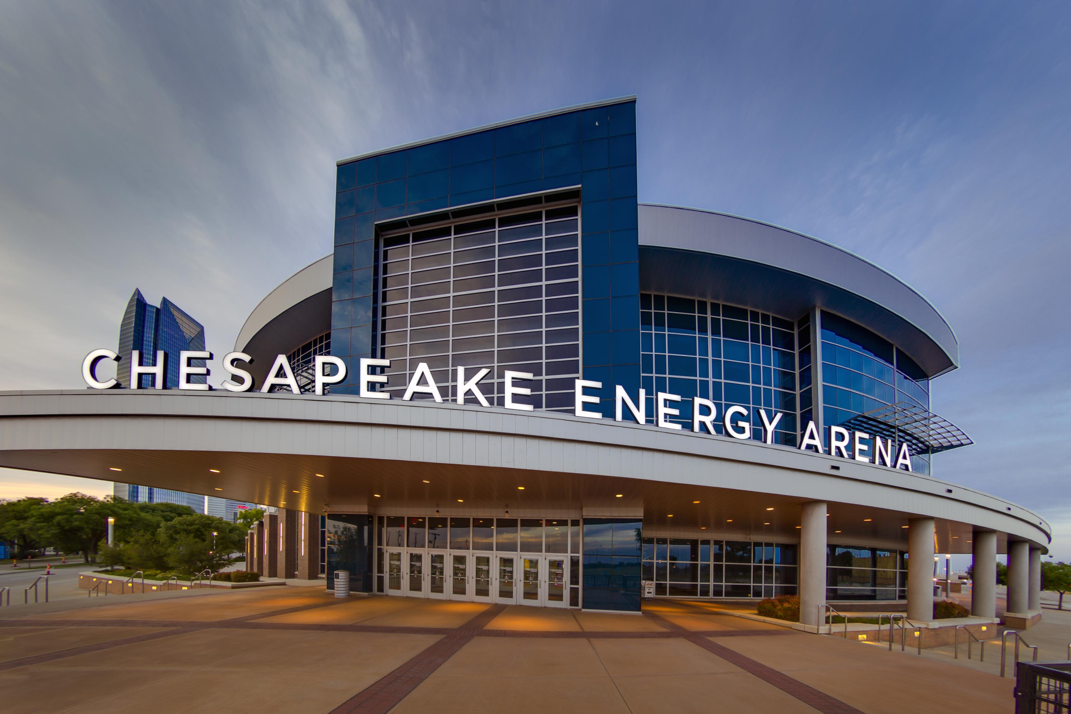 huge selection of 46c4f 03c1e Chesapeake Energy Arena