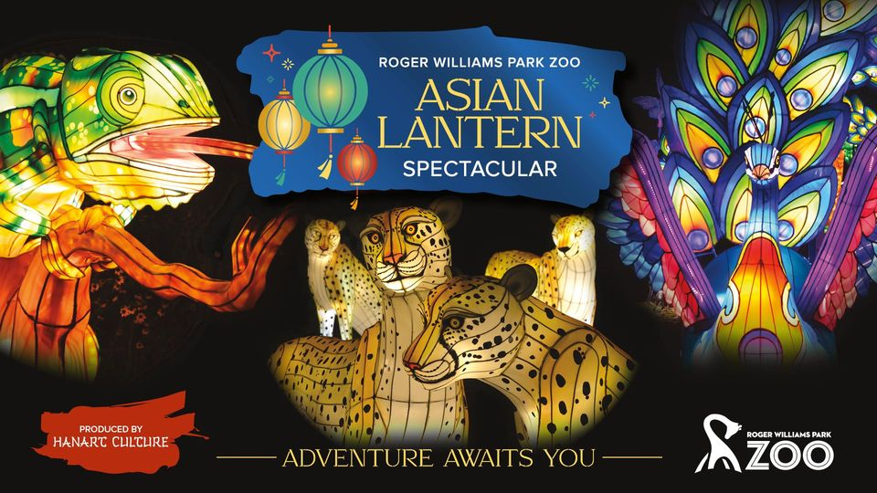 Asian Lantern Spectacular at Roger Williams Park Zoo