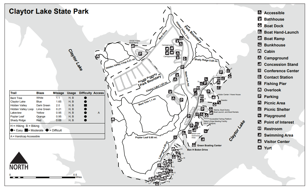 Claytor Lake State Park – Biking | Dublin, VA 24084