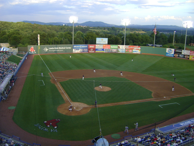 Haley Toyota Roanoke >> Haley Toyota Field At Salem Memorial Ballpark Salem Va 24153