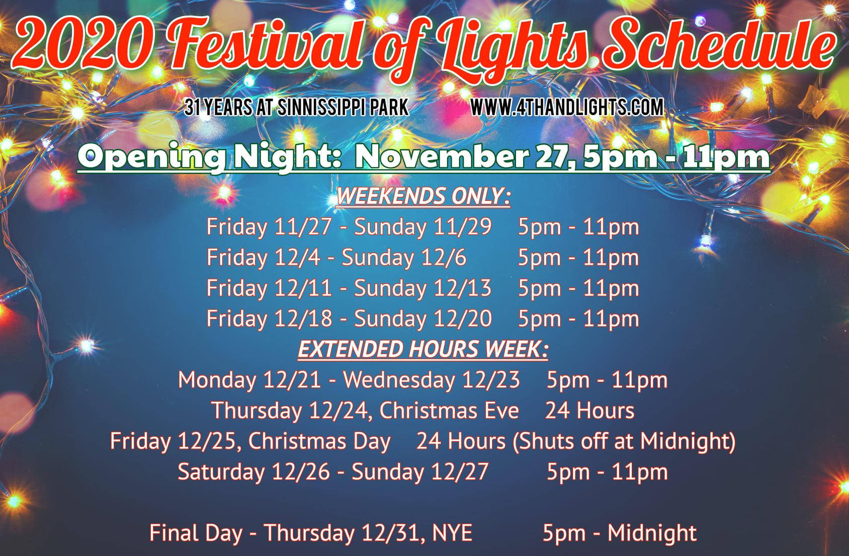 2020 Christmas Rockford, Il 2020 Festival of Lights