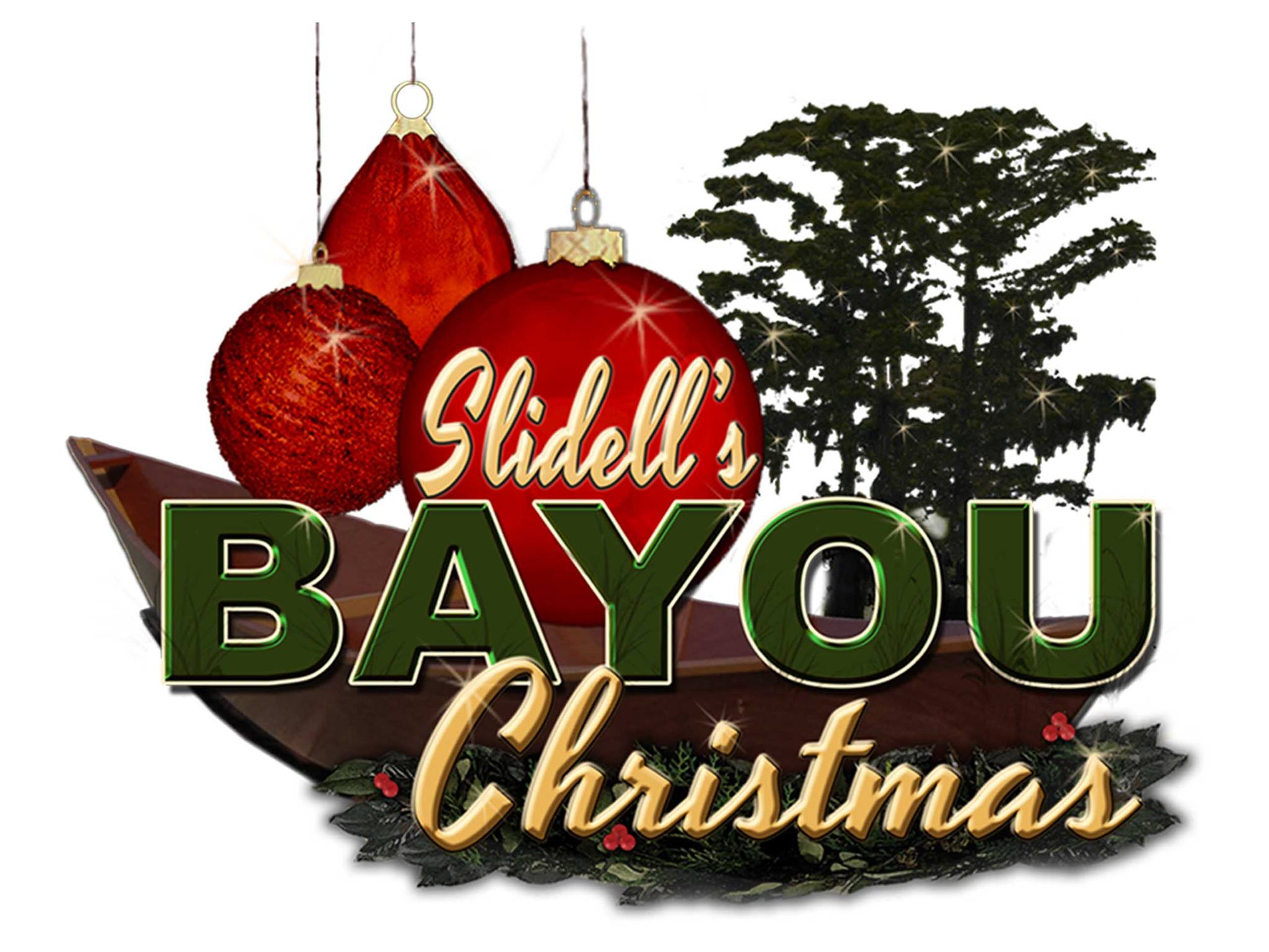 Slidell's Bayou Christmas Drive Thru Light Display | Slidell, LA