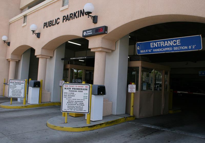 Main Promenade Parking Structure