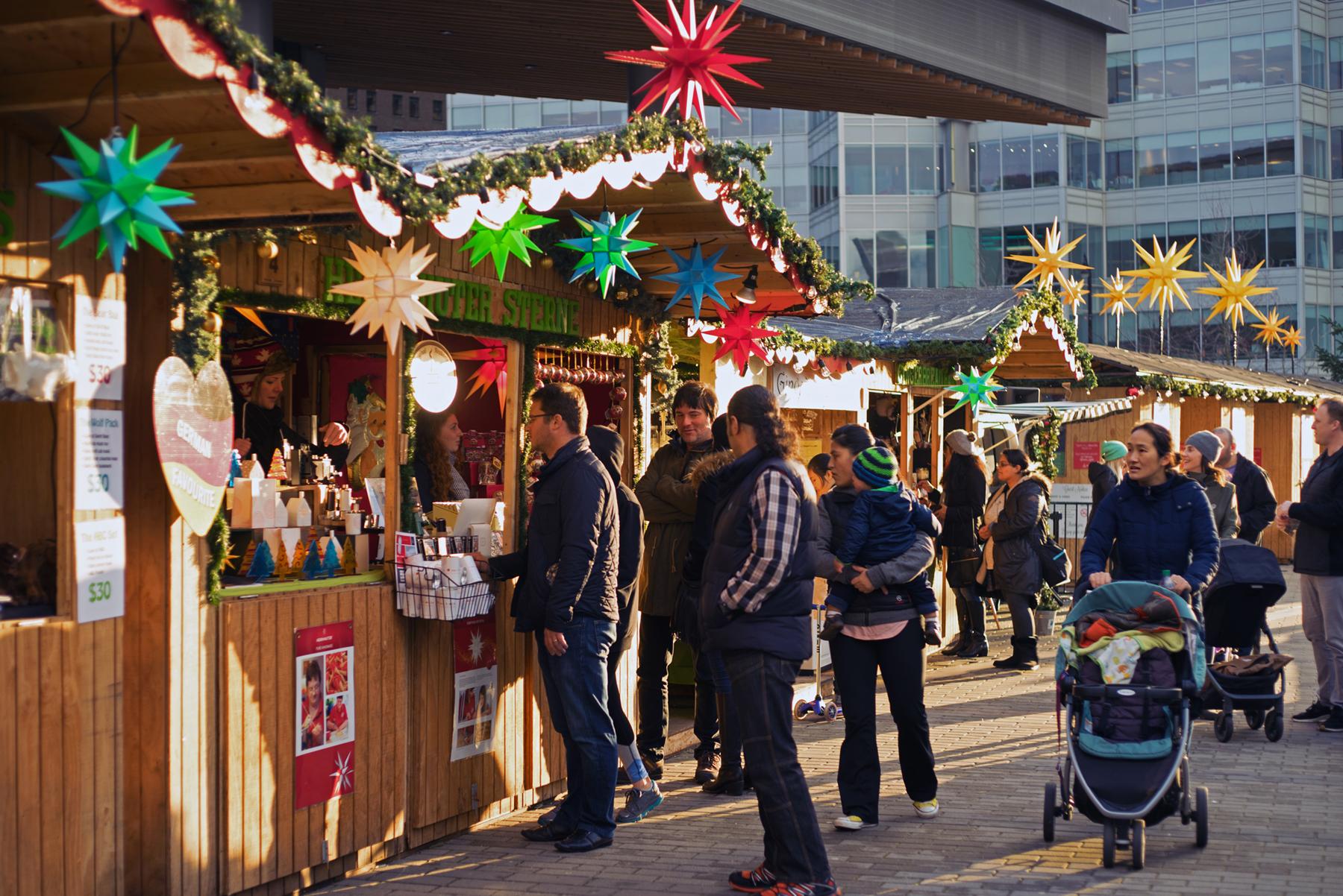 Vancouver Christmas Market 2018.Vancouver Christmas Market