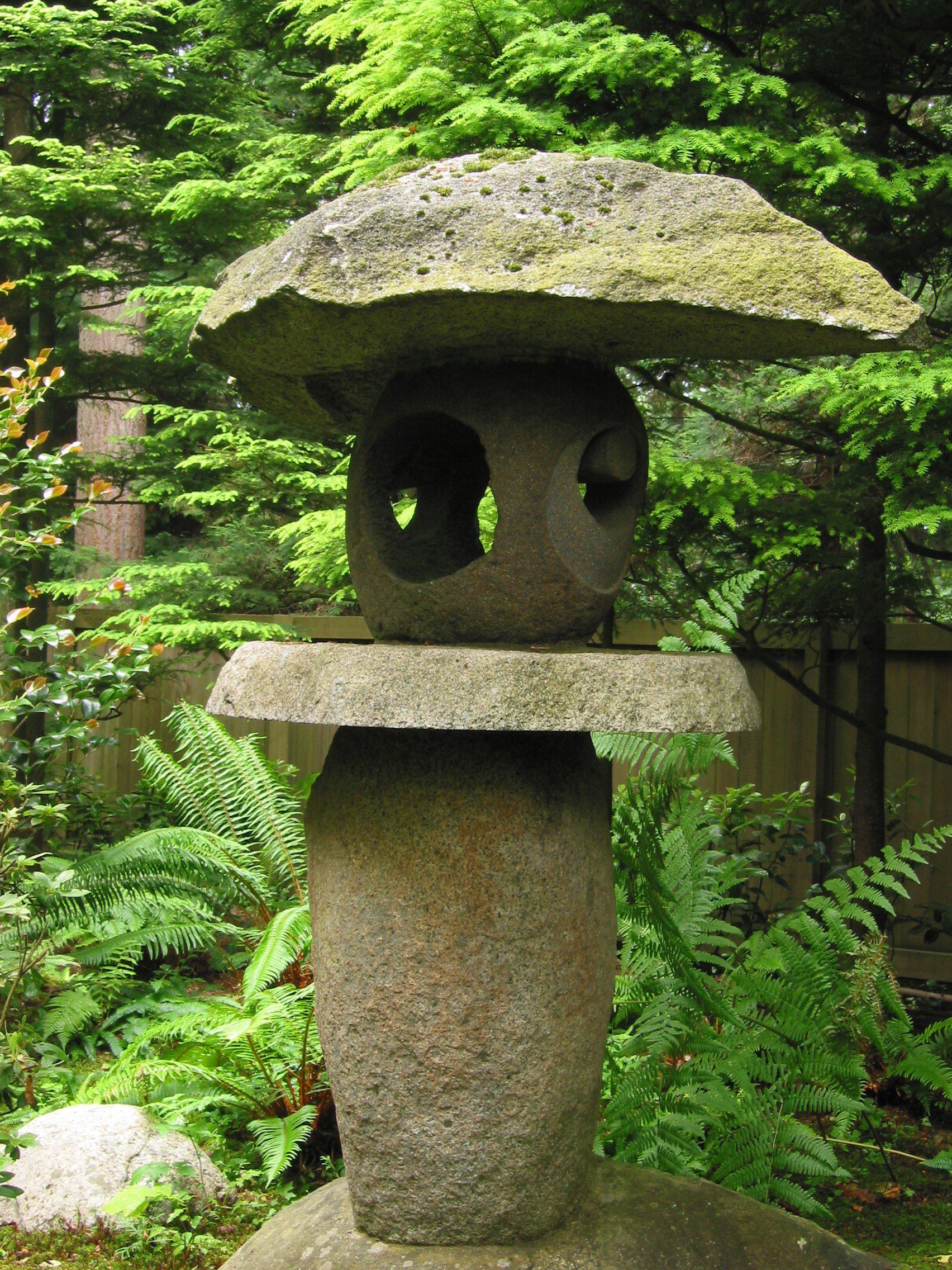 Nitobe Memorial Garden lantern