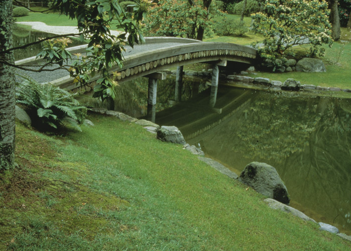 Nitobe Memorial Garden bridge