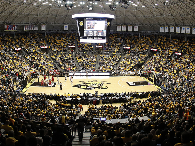 Charles Koch Arena Wichita State University