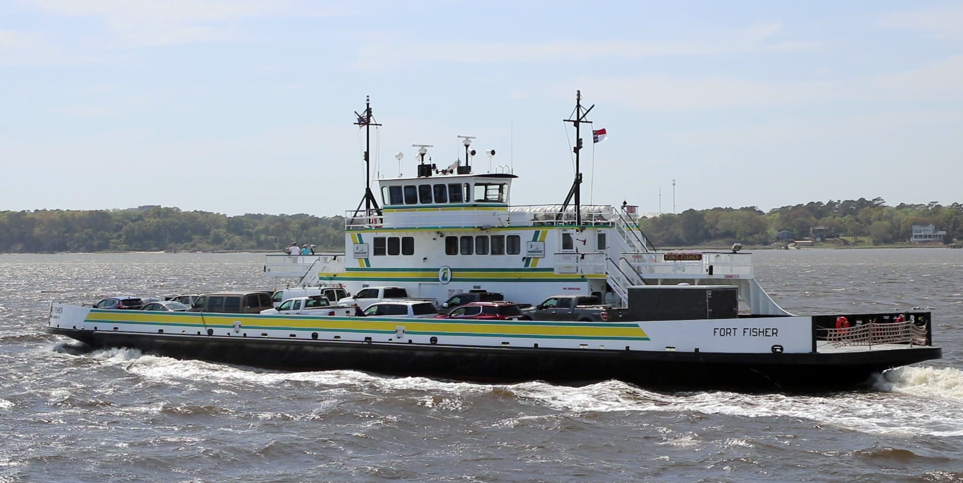 Fort Fisher / Southport Ferry