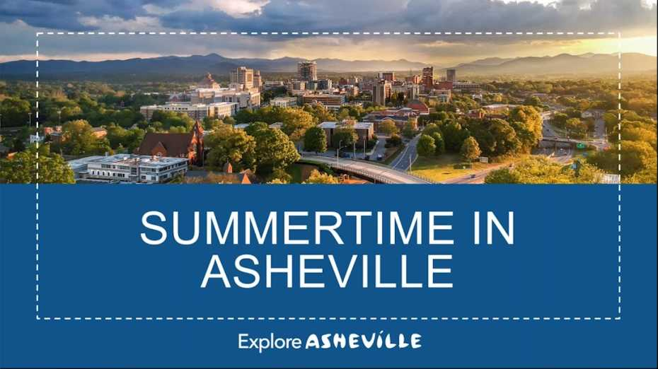Summertime in Asheville 2019