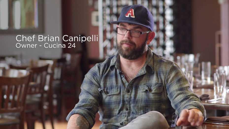 Brian Canipelli, Cucina 24