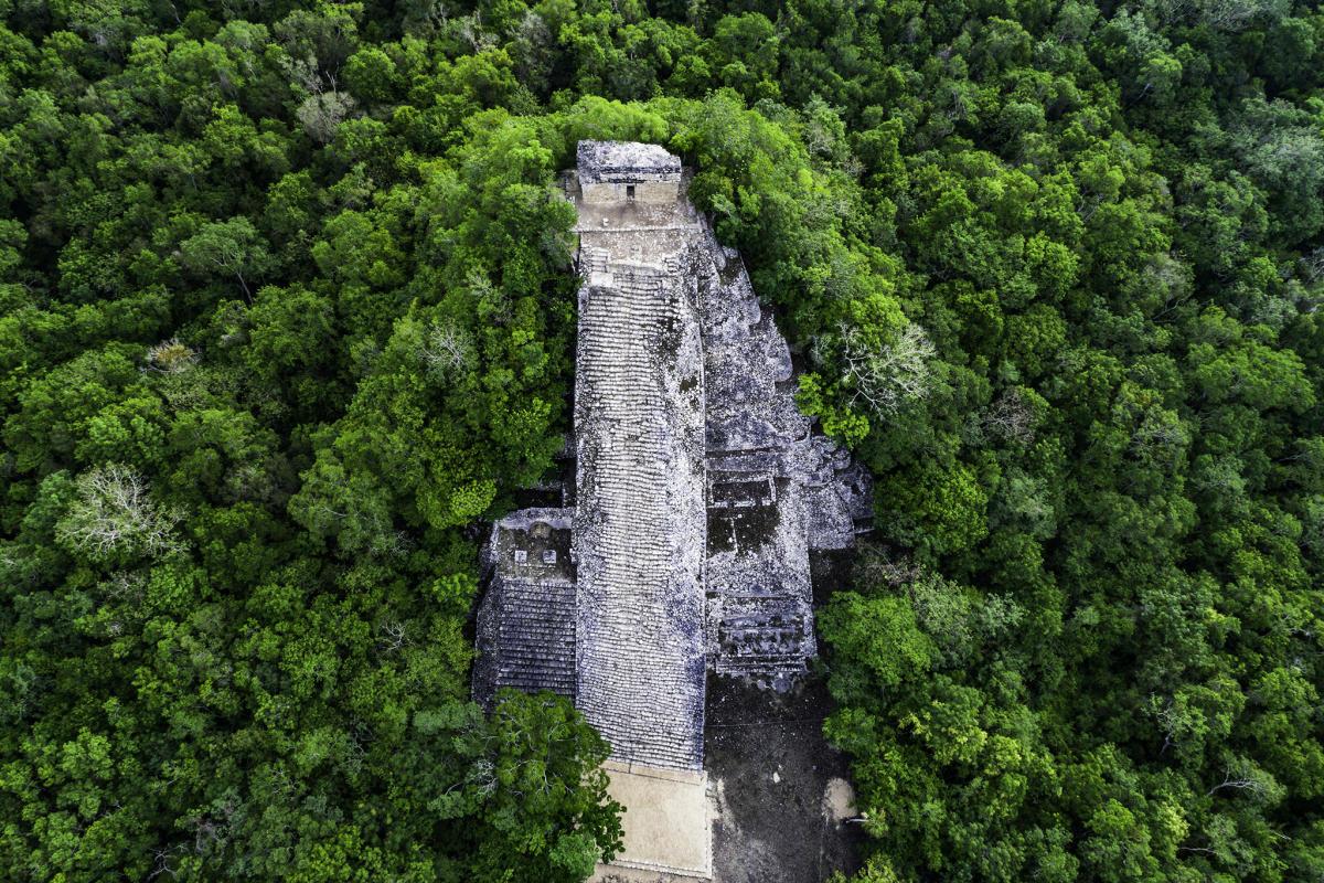 Coba - Dron view