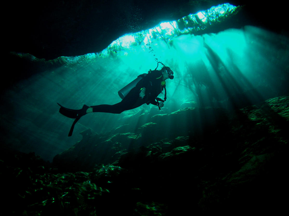 Riviera Maya - Cenote Dive