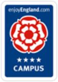 VisitEngland 4 Star Campus Logo