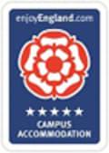 Enjoy England 5 Star Campus Accommodation logo