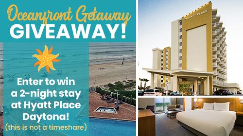Oceanfront Getaway Giveaway