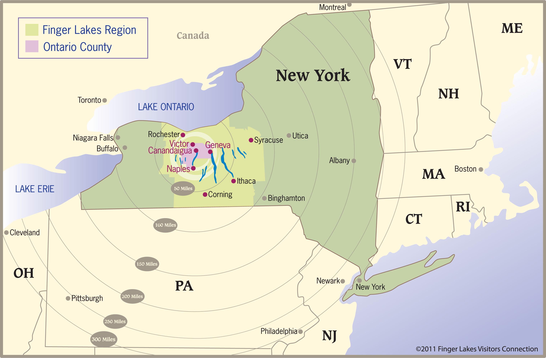 Finger Lakes Maps | Trip Planning | Visit Finger Lakes