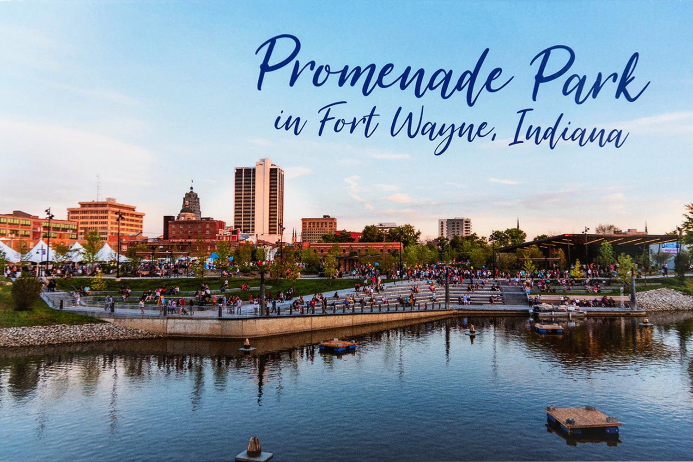 Promenade Park Postcard