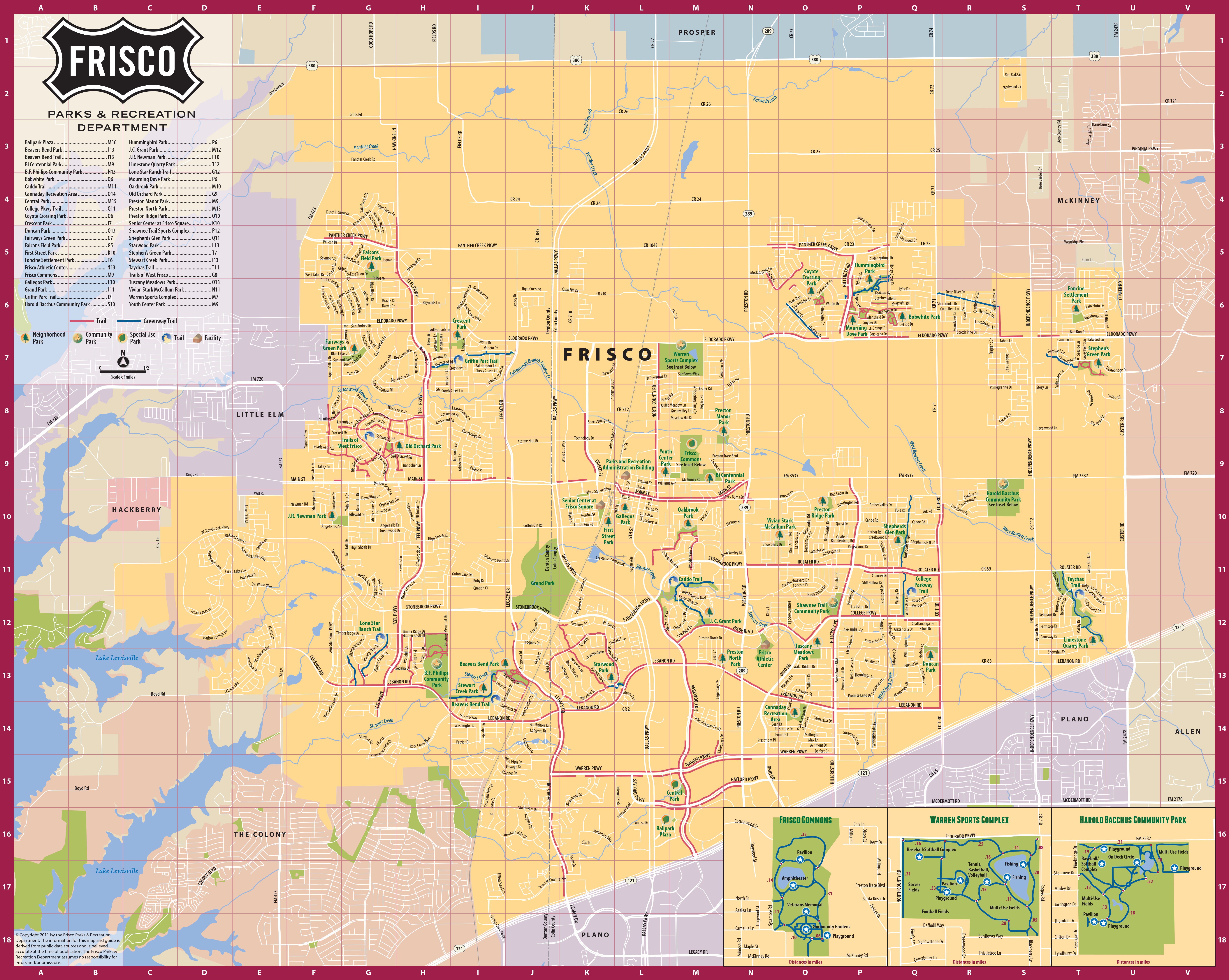 Map Of Frisco Tx Frisco Texas Official Convention & Visitors Site   Map of Frisco