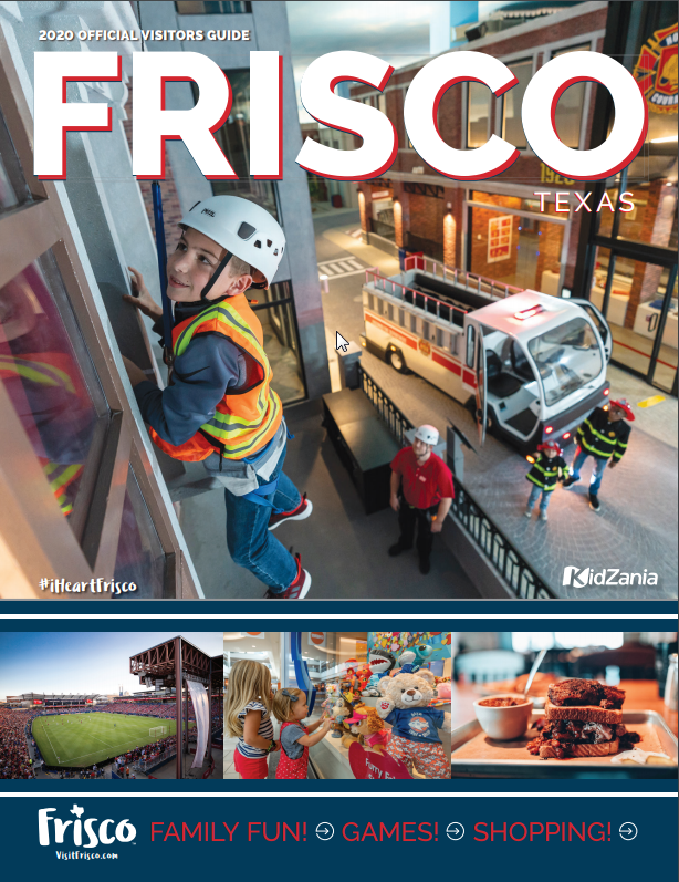 Frisco, Texas - Visitors' Guide Cover