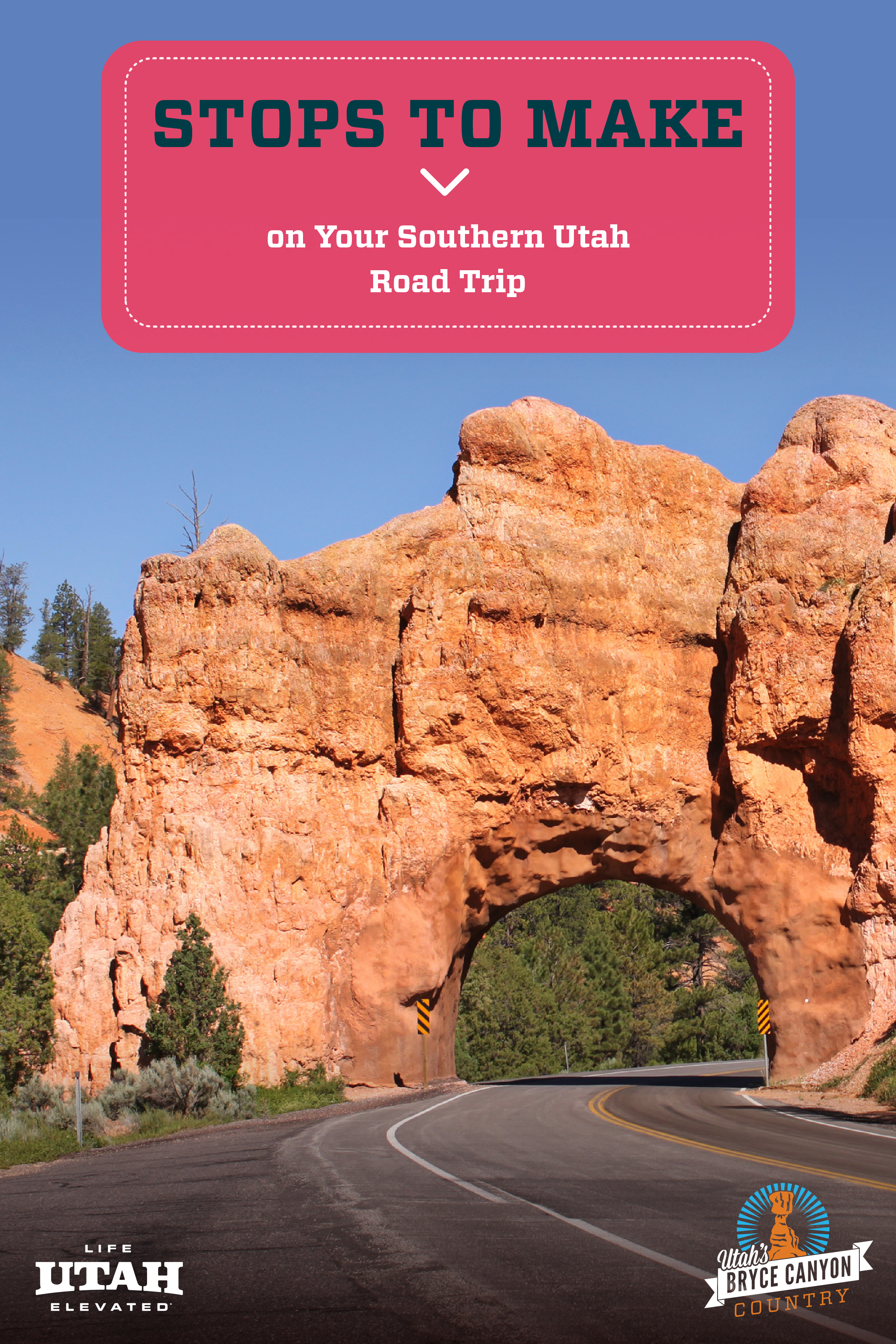 Take three local and scenic byways through Bryce Canyon Country and see multiple national parks, state parks and a national forest along the way! Check out this blog post to see the stops you can make on this Southern Utah road trip to Bryce and Beyond.