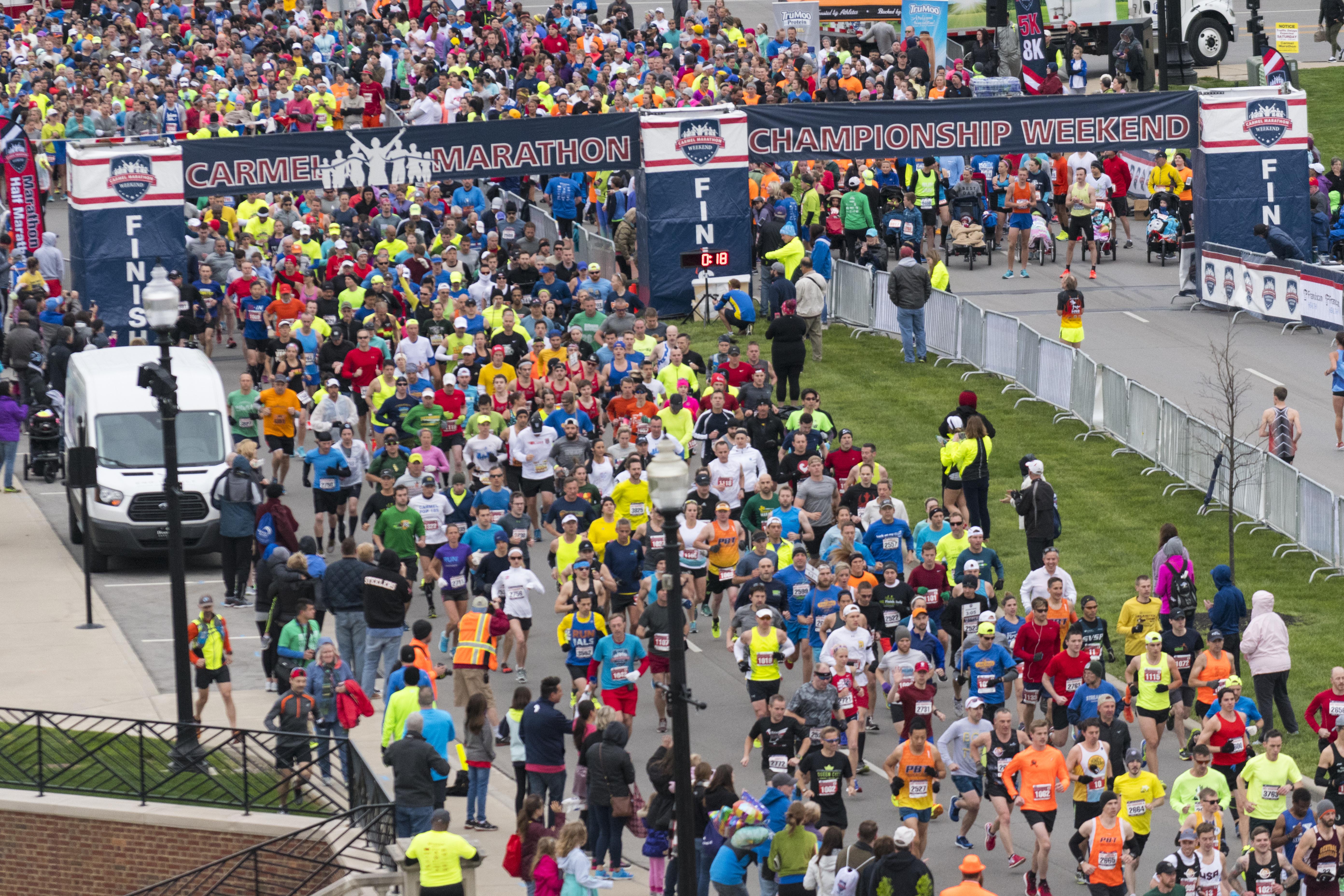 Carmel Marathon Photo by: Eldon Lindsay - 2017