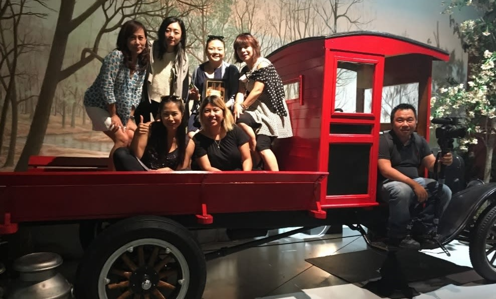 Chinese Travel Media Group Photo