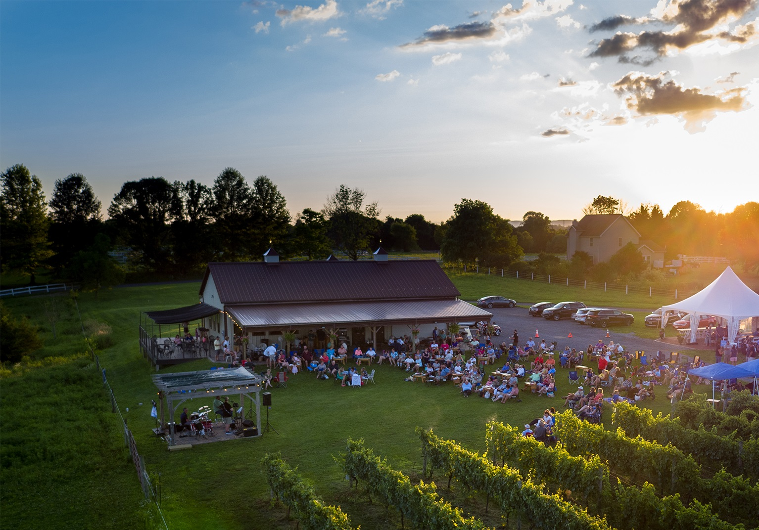 Live Music at wineries