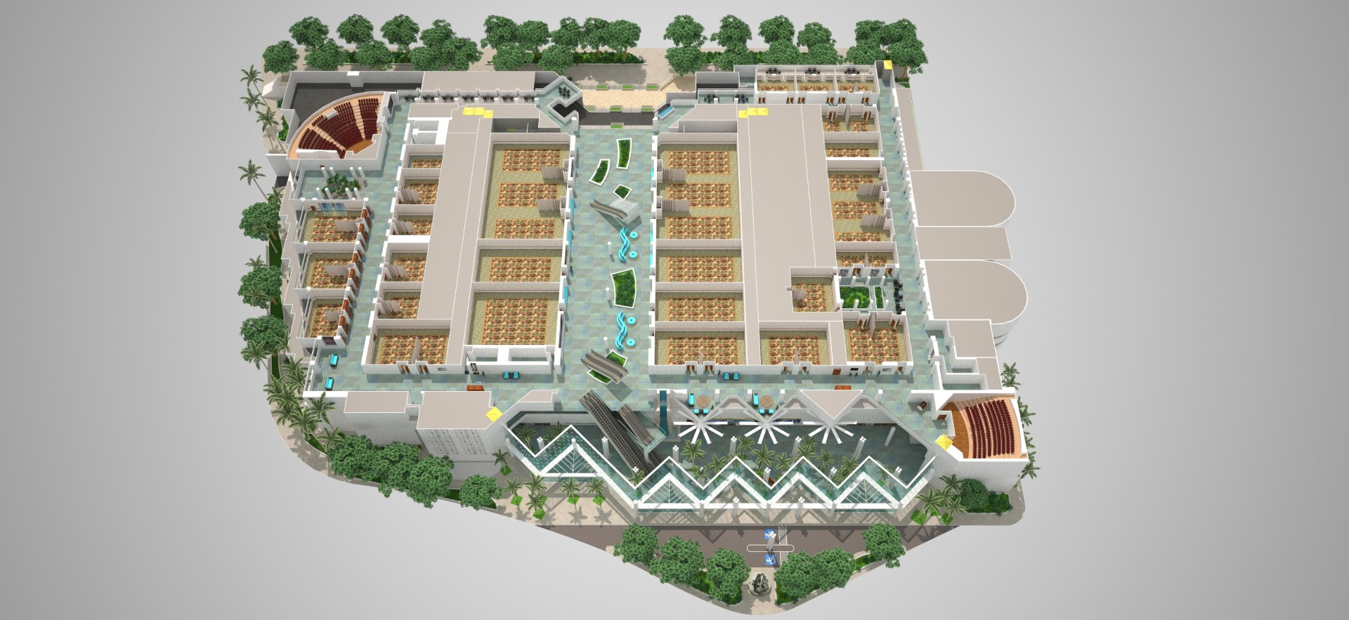 Floor Plans and Schematics for the Hawaii Convention Center on