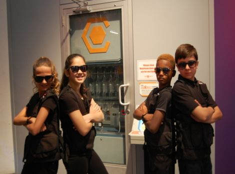 S.E.C.R.E.T. Experience at The Children's Museum of Houston