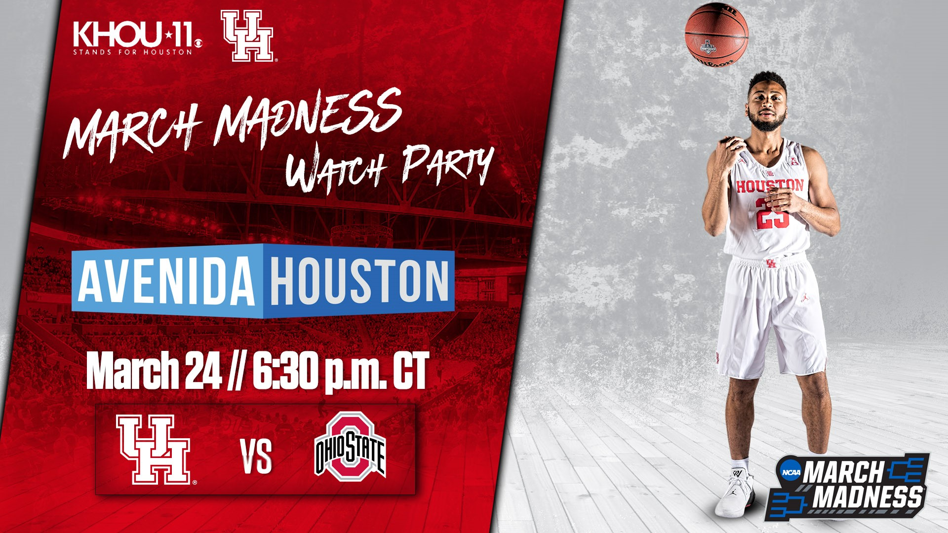 March Madness Watch Party 2019 UH Game 2