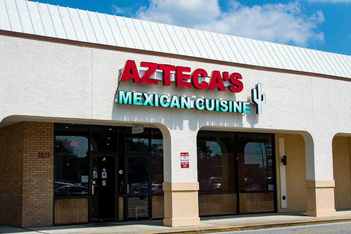 Azteca's Exterior