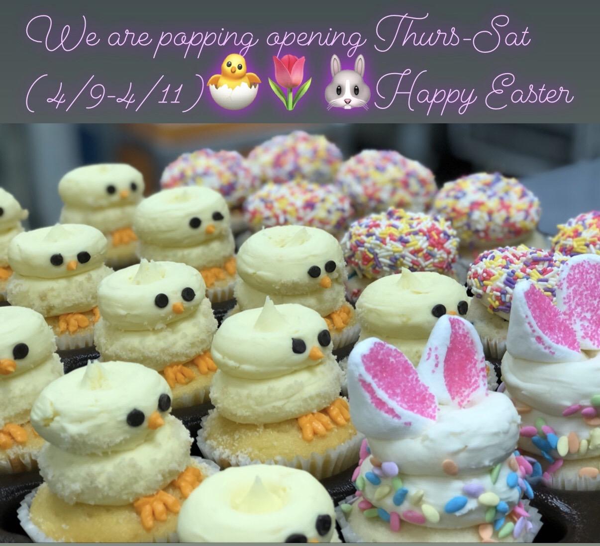 Gigi's cupcakes for Easter