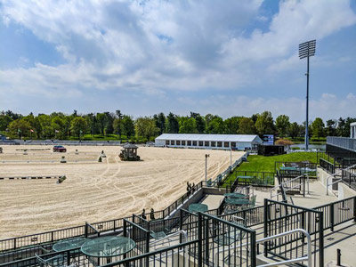 Outdoor arena of Kentucky Horse Park.