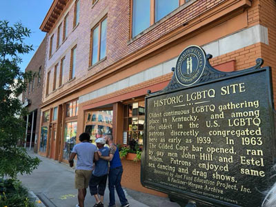 The first ever LGBTQ historic marker.