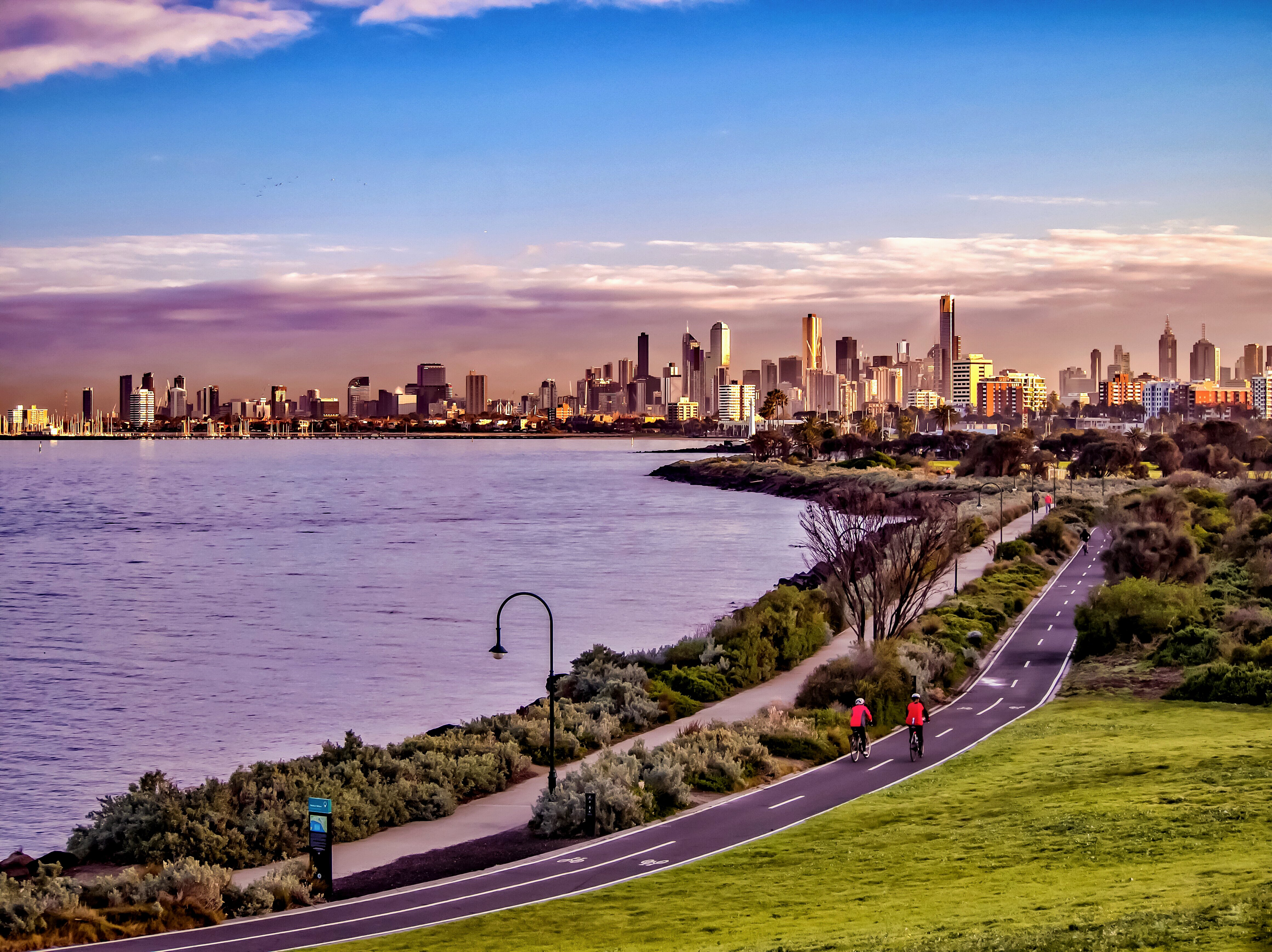 Melbourne is one of th ebest cities to live