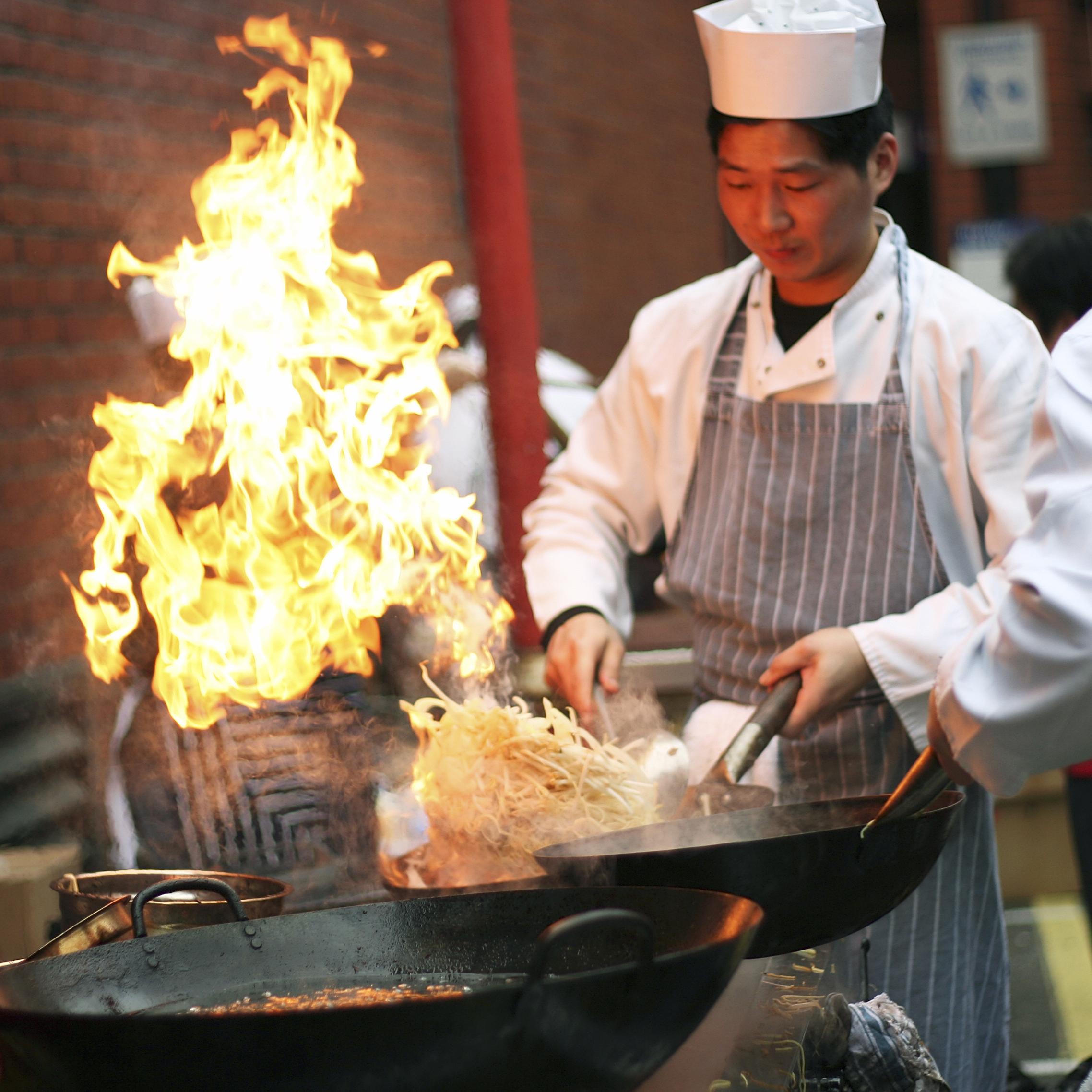 Hawker Market Chef