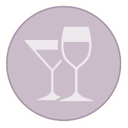 wine & cocktail icon